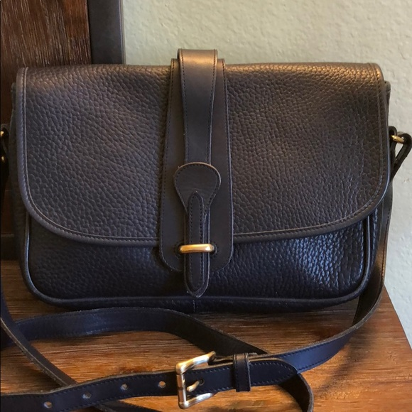 a760de1a089b Dooney   Bourke Handbags - Vintage Dooney   Bourke Equestrian navy crossbody